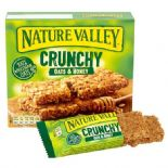 Nature Valley Crunchy Granola Oats & Honey x 5 packs (containing 2 bars)